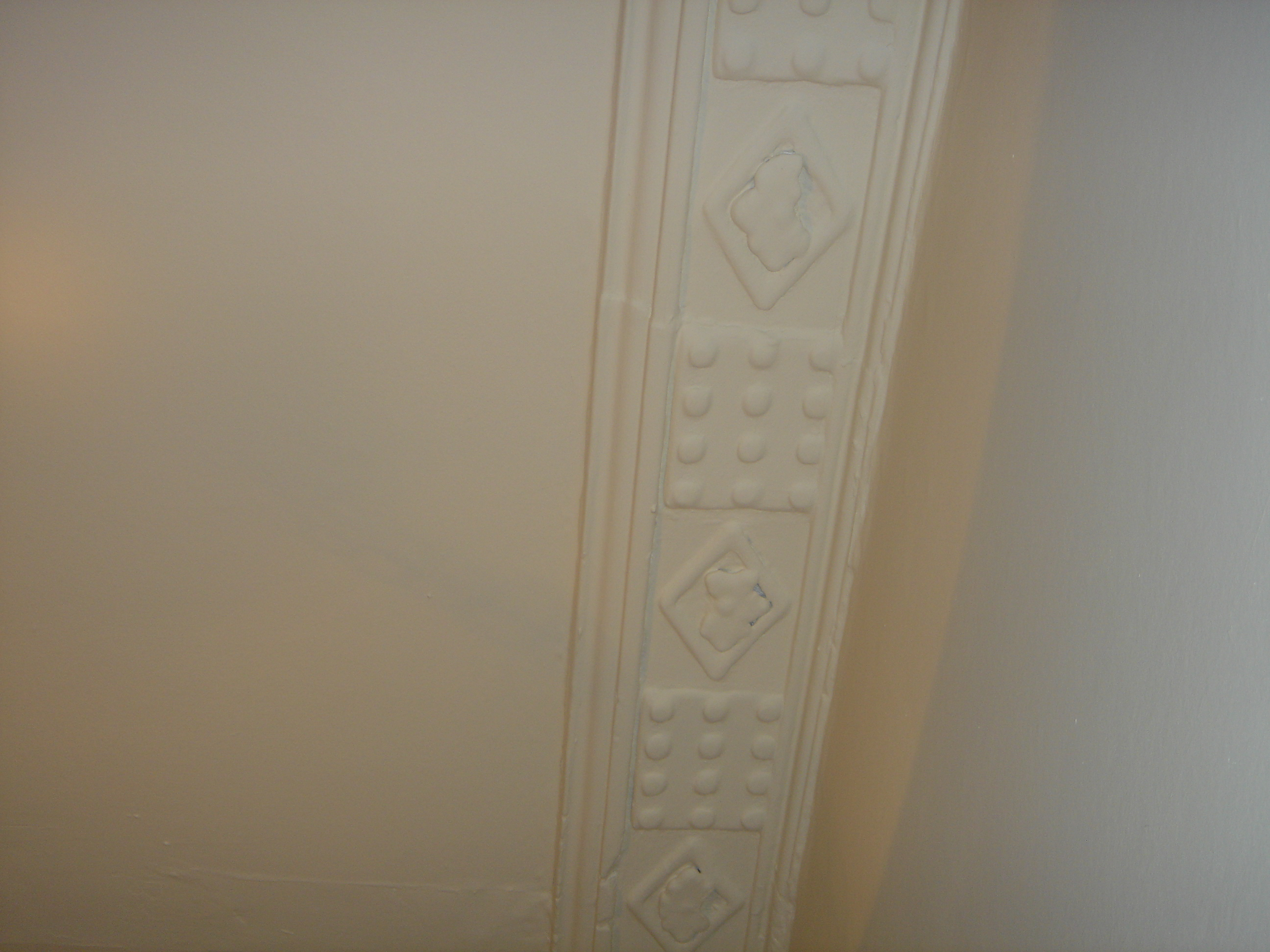 How Cornice Looked Before Cleaning