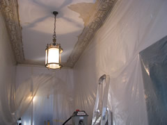Repainting Cornices
