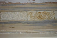 After cleaning - close up of above cornice