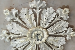 Ceiling Rose Removed, Cleaned & Restored