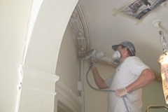 Repainting Cornices