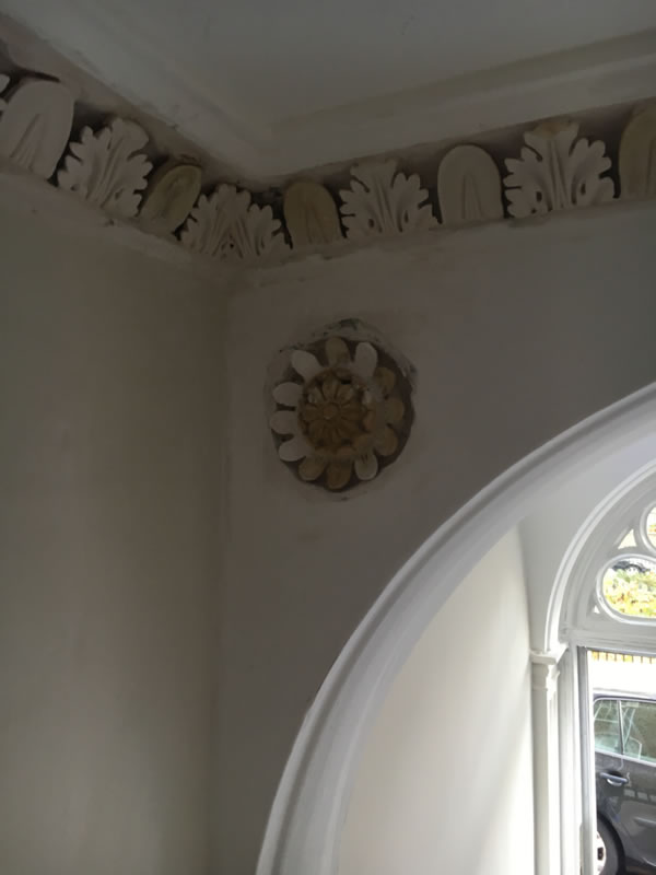 cornice paint removal 5