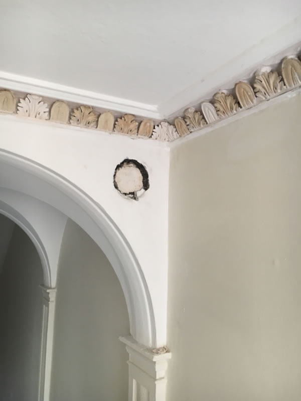 cornice paint removal 7