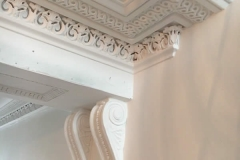 cornice paint removal