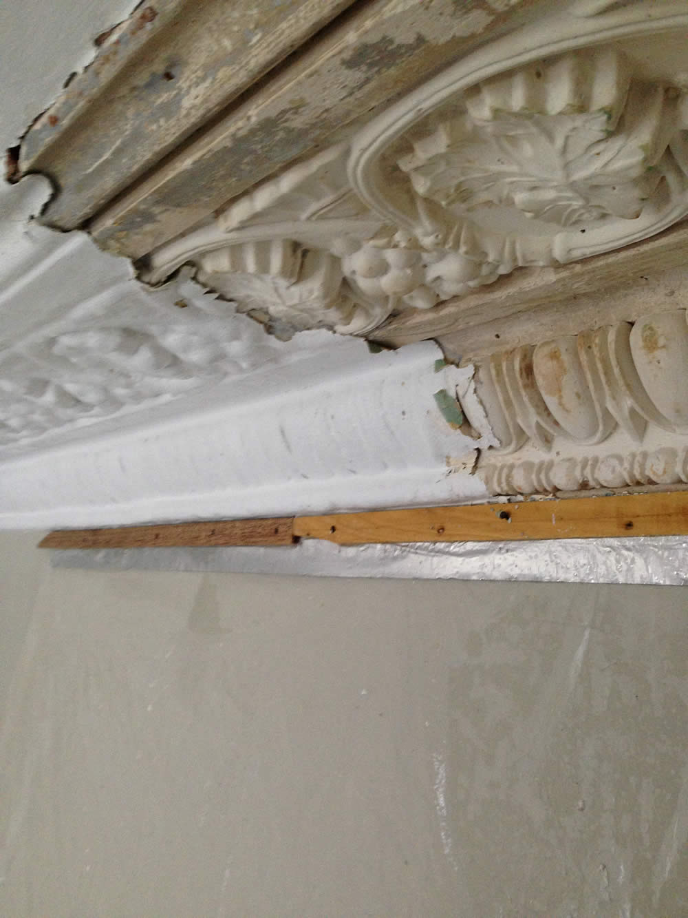 Cornice Restoration Video Cornice Cleaning Ltd