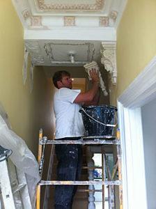 cornice restoration and repair